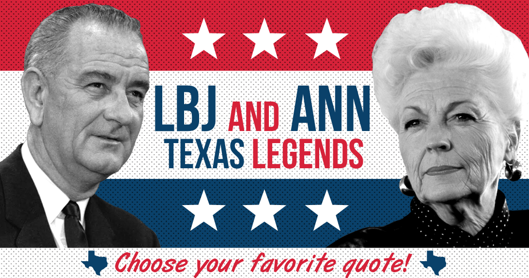 LBJ and ANN