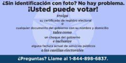 Cómo votar en Texas, si usted no tiene una identificación con foto
