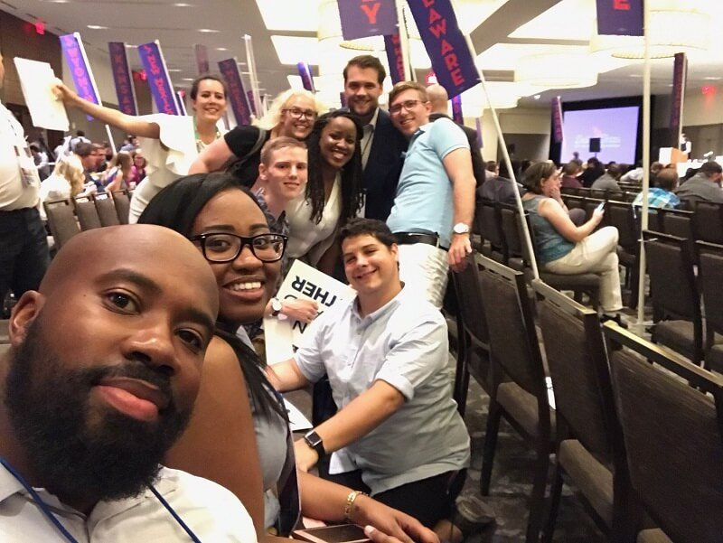 Young Democrats of America convention