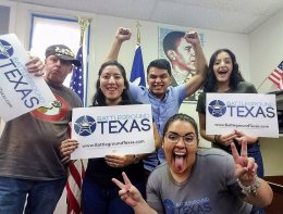 What do Battleground Texas Fellows do?